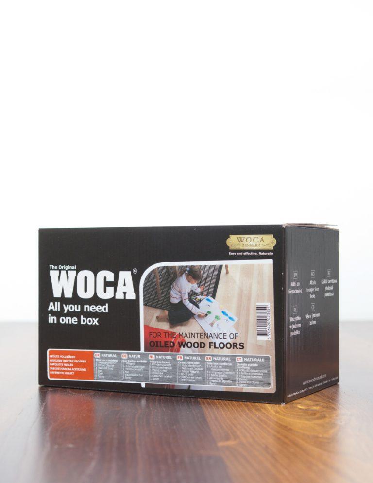 WOCA Pflege-Box für geölte Fussböden
